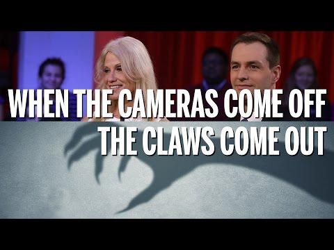 Off-camera, Hillary