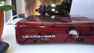 Unboxing XBOX 360 Edición Limitada de Gear of War 3