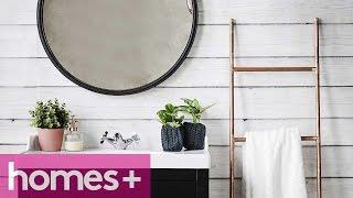 Diy Project: Copper Towel Rack - Homes+