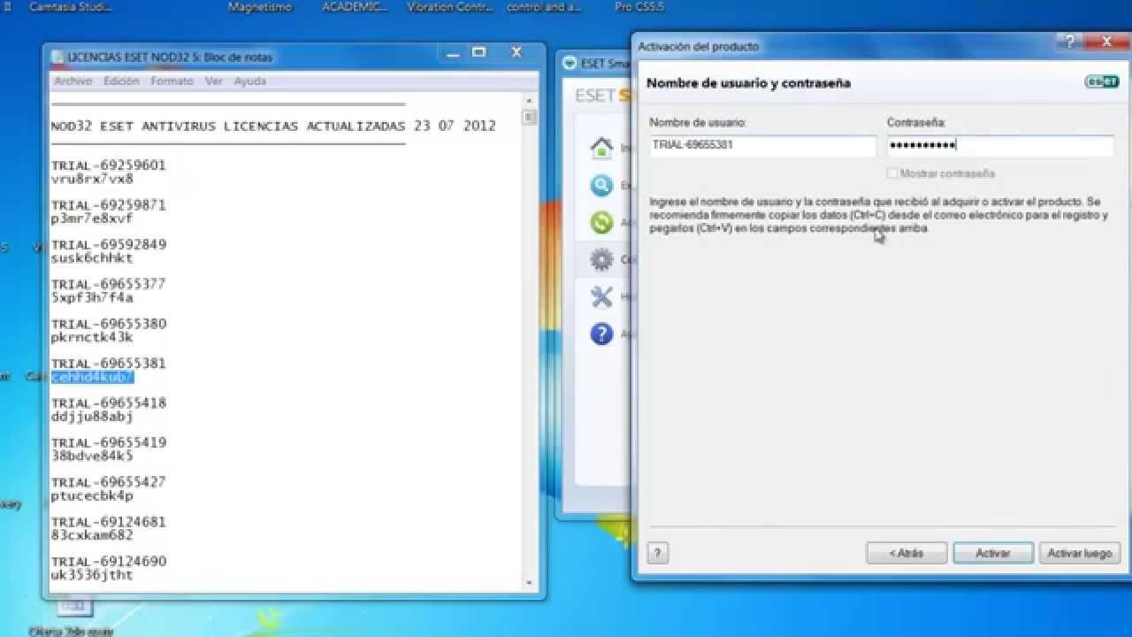 Eset Nod32 Antivirus 5 Licencias De Por Vida Youtube