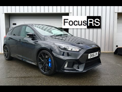 shadow black 2016 ford focus rs inside lane youtube. Black Bedroom Furniture Sets. Home Design Ideas