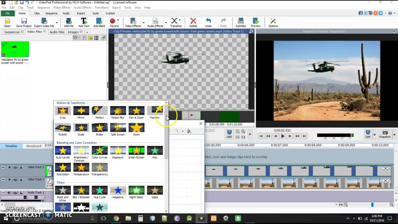 Videopad video editor move green screen object around youtube videopad video editor move green screen object around ccuart Gallery