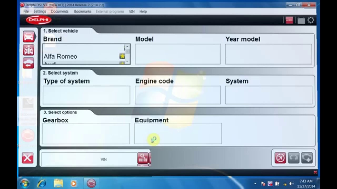 Autocom Delphi DS150E 2014 2 install video