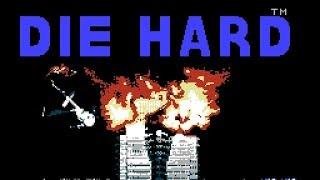 Апрельский Крепкий Орешек   Die Hard (U) Игра (Dendy, Nes, Famicom, 8 bit) 1991 Стрим RUS