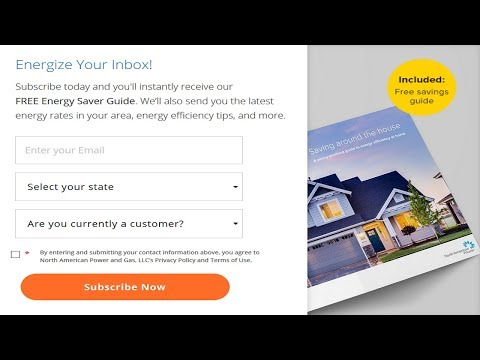FREE Energy Saver Guide from North American Power