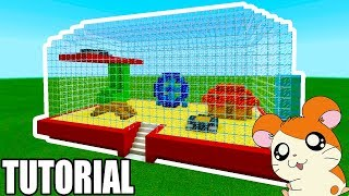 Minecraft: How To Make a Hamster Cage House