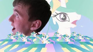 Dis 76th React - Princess Celestia Being Deep, Just be me, Everypony Plays Sports Games