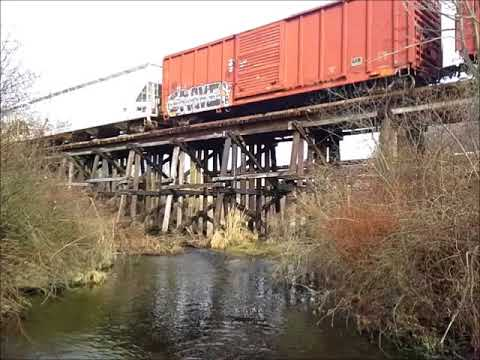 Wheeling 663 over the Little Cuyahoga River