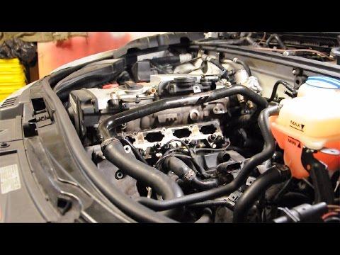 Audi A4 Removing Intake Manifold