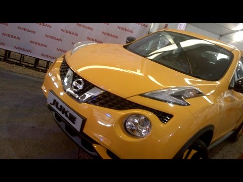 Yellow Nissan Juke - ABC Mega Autofair 2015 | MAURITIUS