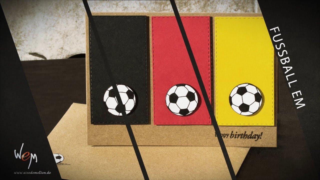 Geburtstagskarte Fur Fussballfans