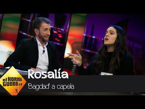 download 'Bagdad' con Rosalía a capela - El Hormiguero 3.0