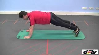 Der Fitnesstest in der Trainer B-Lizenz: Teil 3 - Der Liegestütz