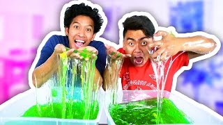 Repeat youtube video SLIME BAFF CHALLENGE!