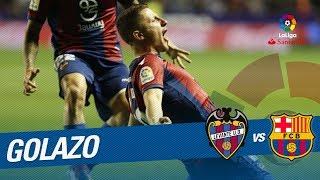 Golazo de Bardhi (3-1) Levante UD vs FC Barcelona