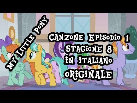 [ITALIAN] My Little Pony Canzone - La canzone della scuola (S8)[HD][+Lyrics CC]