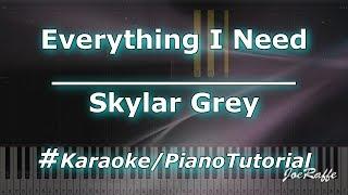 Download Skylar Grey - Everything I Need (Karaoke/PianoTutorial/Instrumental) Mp3