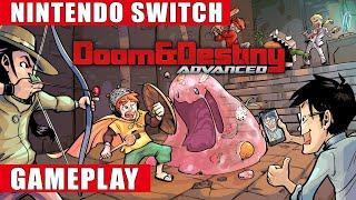 Doom & Destiny Advanced Nintendo Switch Gameplay screenshot 2