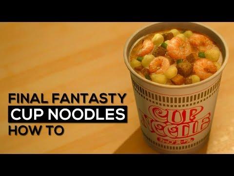 Final Fantasty - Cup Noodles