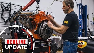 MORE PROJECTS! Nailhead on hold, Davin starts on Chevy big block 396 | Redline Update #5
