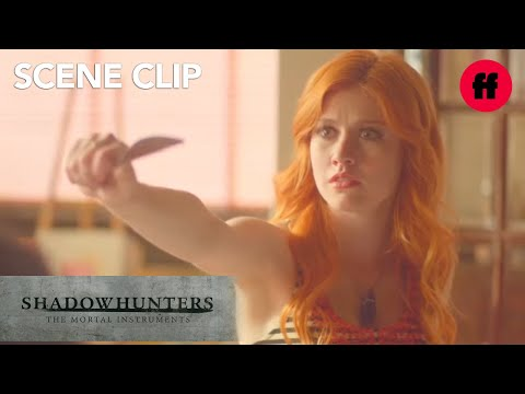 Shadowhunters | Season 1, Episode 10: Clary Easts Breakfast With Family | Freeform