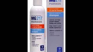 MG217 Psoriasis Medicated Conditioning 3% Coal Tar Formula Shampoo, 8 Fluid Ounce