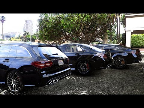 GTA V | MERCEDES C63S AMG ESTATE VS. SEDAN VS. COUPE | GTA 5