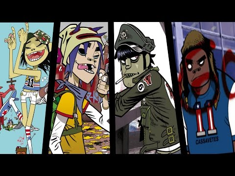 Gorillaz Phase 1: Wallpapers (WITH DOWNLOAD)