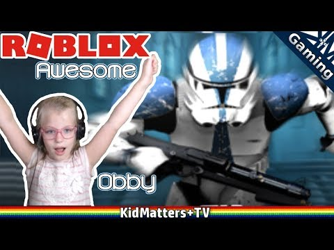 Star Wars Obby   Roblox -An Awesome Star Wars Obby [KM+Gaming S01E53]