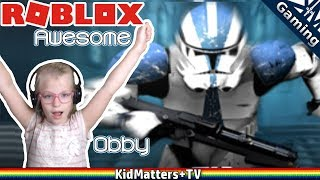 Star Wars Obby | Roblox -An Awesome Star Wars Obby [KM+Gaming S01E53]
