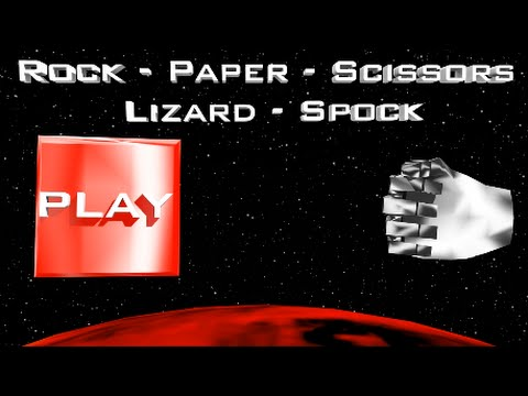 The Big Bang Theory *Interactive Game* - Rock, Paper, Scissors, Lizard, Spock