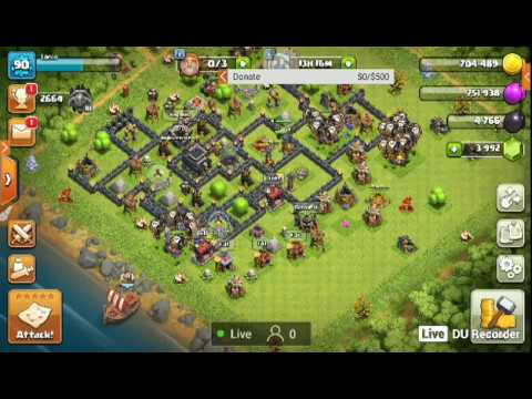 Clash of Clans | Get immense amount of DE from GoWiPe event