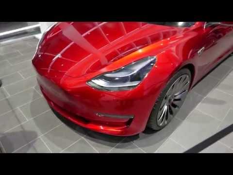 Tesla Model 3 4k