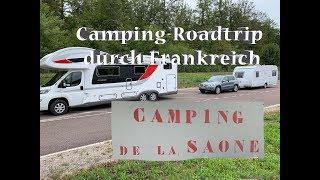 WOHNMOBIL oder WOHNWAGEN - Camping in Frankreich: Camping de la Saône