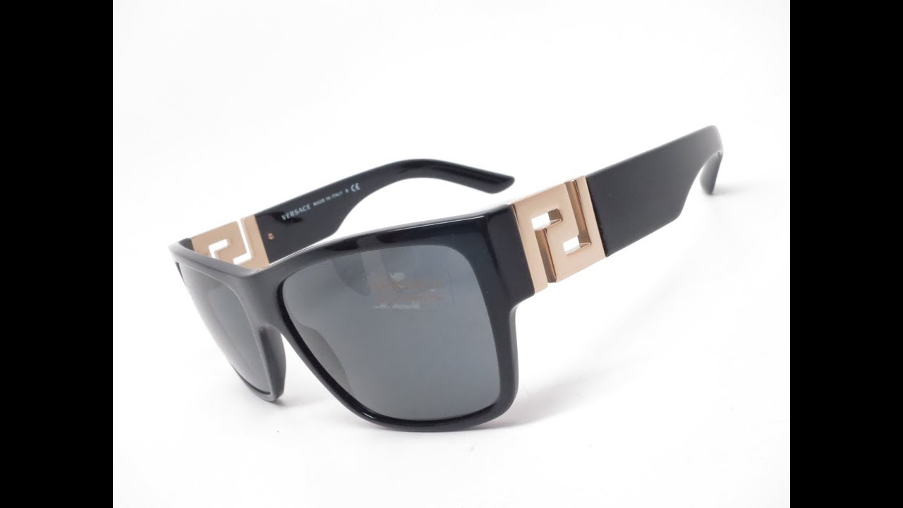 2a751599c63a7 Versace VE 4296 GB1 87 Sunglasses Unboxing   Review - YouTube