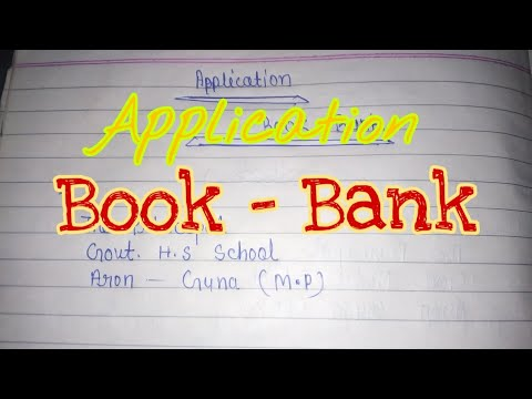 Application Book Bank Ll By DN Yogi Teach