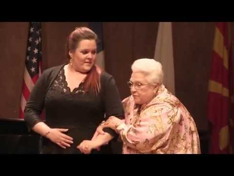 Masterclass avec / with Marilyn Horne