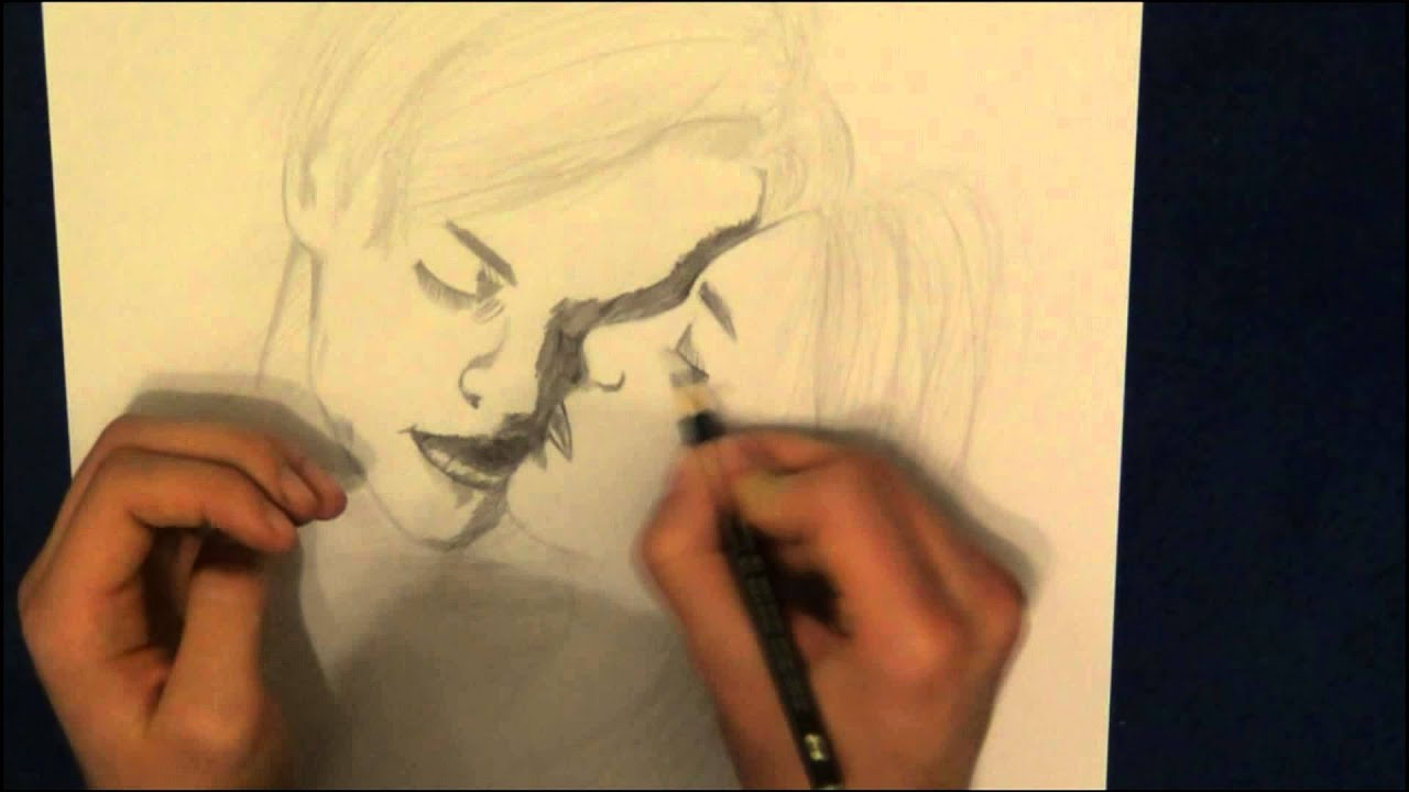 Speed Drawing: Romeo and Juliet