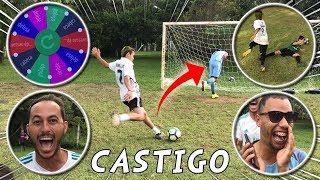 ROLETA DO CASTIGO ( FAZ OU TOMA ) DESAFIOS DE FUTEBOL
