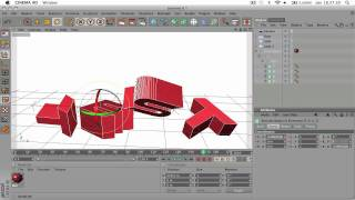 How To Make A Simple Intro In Cinema 4D Beginners