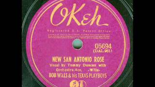 Bob Wills & his Texas Playboys - New San Antonio Rose (original 78 rpm)