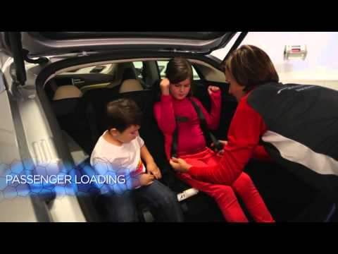 How to use the Rear Facing Seats North America