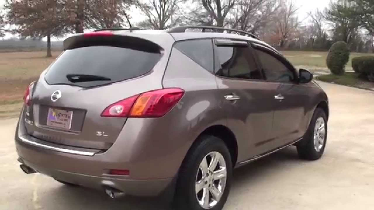 hd video 2009 nissan murano sl leather premium used for sale see www sunsetmotors com youtube. Black Bedroom Furniture Sets. Home Design Ideas