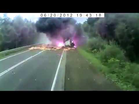Auto avārijas video