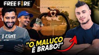 O MAIS BRABO NO FREE FIRE - feat LEO STRONDA