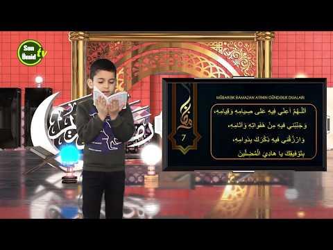 Mübarək #Ramazan2020 ayının 7-ci gününün – #DUASI Zeynəb&Mehdi