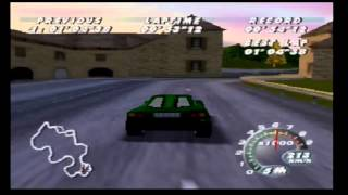 Automobili Lamborghini (N64) - Time Trial on all Tracks
