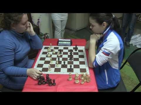 2016-10-13 WGM Fatjanova - GM Gorjachkina ENDGAME Ostankino Women Blitz.