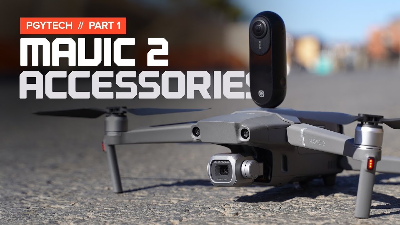Accessories For The Dji Mavic 2 By Pgytech Youtube Bt
