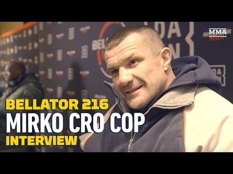 Mirko Cro Cop Talks Bellator Future, Fedor's GP Effort and Pet Squirrel - MMA Fighting